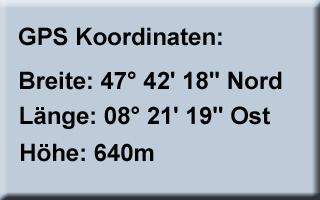 GPS-Koordinaten Löchli
